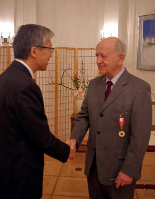 Japanische Auszeichnung für deutschen Verleger