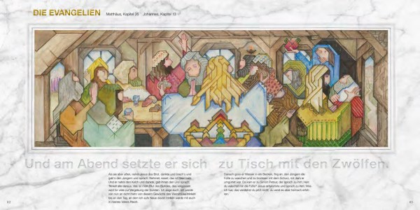 Die ART-Edition der Wiedmann Bibel Wie passt eine 1,2 km lange Künstlerbibel in ein Buch?