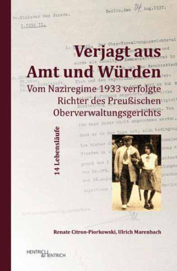 Über die Beteiligung der Justiz am Staatsterror der Nazis