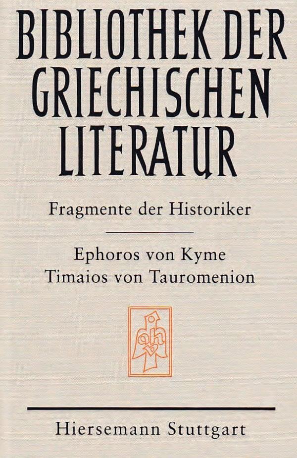 Die Fragmente der Historiker