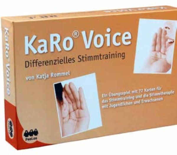 KaRo Voice – Differenzielles Stimmtraining