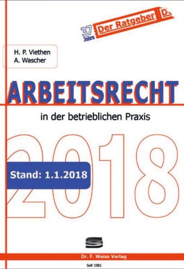 Arbeitsrecht In Der Betrieblichen Praxis Fachbuchjournal