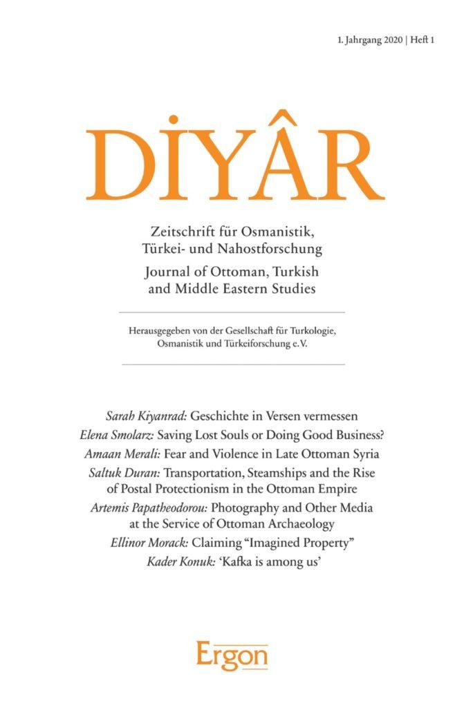 Diyâr – Zeitschrift für Osmanistik, Türkei- und Nahostforschung